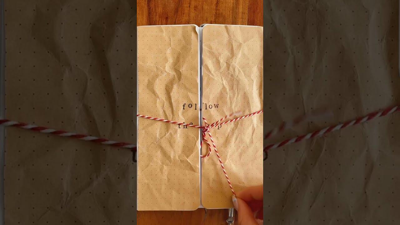 a hidden treasure map journal spread??