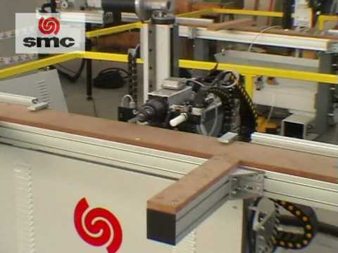 CNC door mortiser Maginn Machinery - YouTube