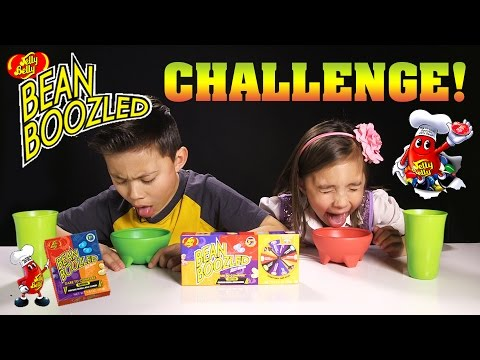 Thumbnail: BEAN BOOZLED CHALLENGE! Super Gross Jelly Belly Beans!