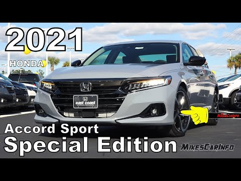 2021 Honda Accord Sport Special Edition - Ultimate In-Depth Look in 4K