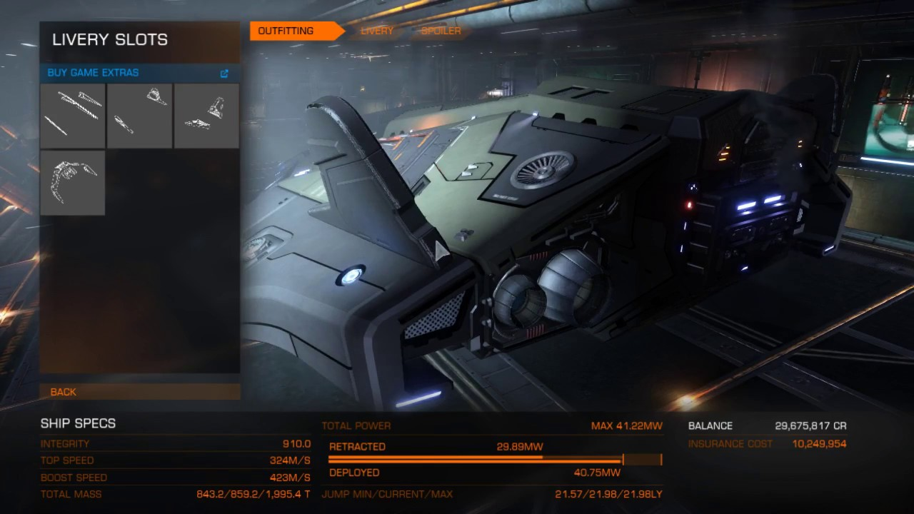 Elite Dangerous Python Ship Kit Youtube