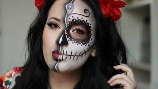 Sugar Skull/Day of the Dead Makeup Tutorial ~ HALLOWEEN 2015