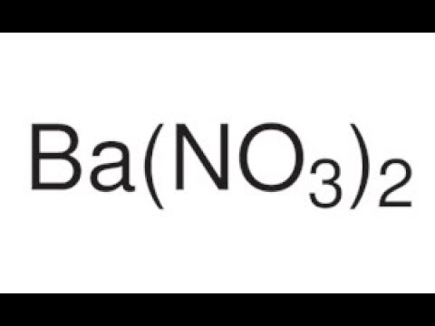 Preparation of Barium Nitrate