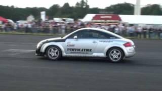 Rotenburg Racedays 2009 - Dodge Charger vs. Siemoneit Audi TT