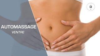 Auto-massage du ventre contre les ballonnements