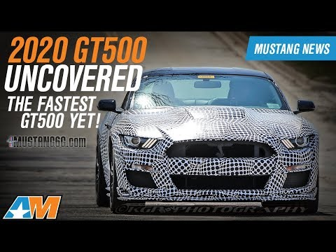 First Look At The Uncovered 2020 Mustang GT500 + Giveaway – Mustang News