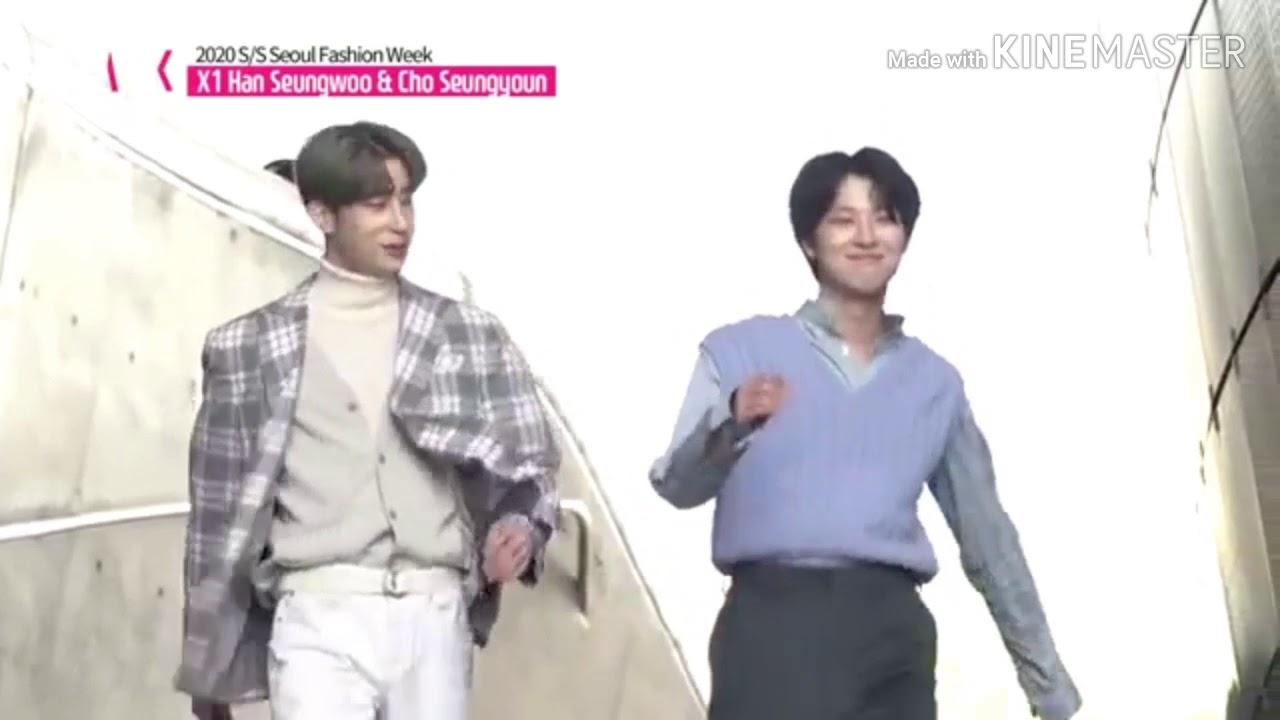 X1 Hyung Line at Seoul Fashion Week - BBF version