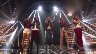 "Fifth Harmony ""Anytime You Need a Friend"" - Live Week 6 (Sing-Off) - The X Factor USA 2012"