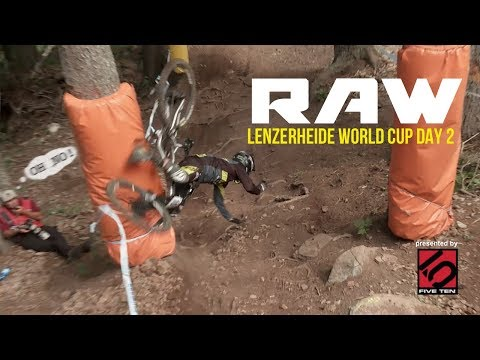ROCKS, ROOTS & ROOST  Vital RAW  Lenzerheide World Cup DH Day 2