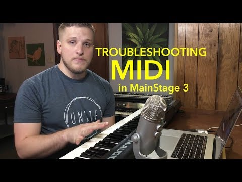 MainStage Tutorial: Troubleshooting Midi Connections in MainStage 3
