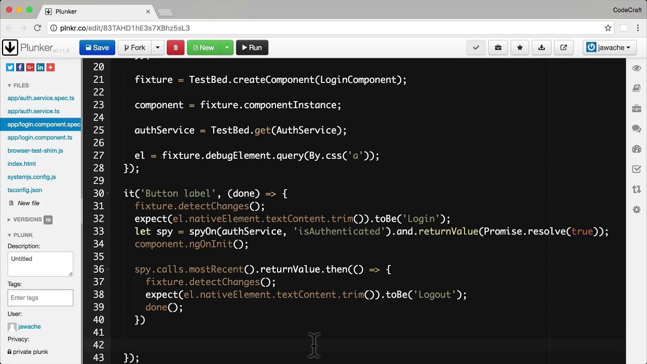 Testing Asynchronous Code • Angular