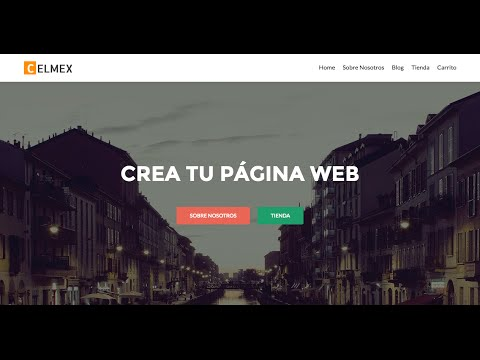 Como Crear Una Pagina Web 2016 - Tutorial WordPress Español