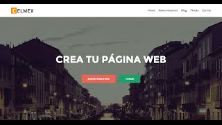 Como Crear Una Pagina Web Tutorial Wordpress 2016  - Mexicosmueve