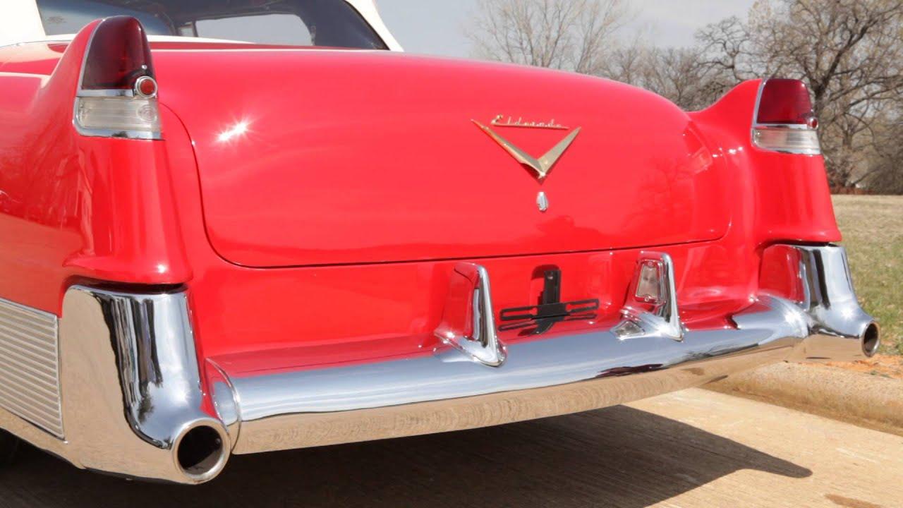 1954 Cadillac Eldorado Convertible Exhaust Sound Youtube El Dorado