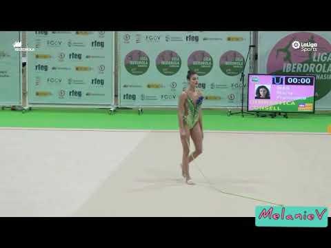 MARIA FRANCESA MAS - CUERDA ( GIMNASTICA CONSELL ) ( FINAL LIGA IBERDROLA 2019 )