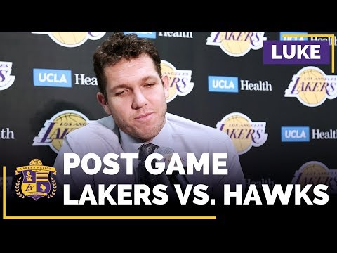 Luke Walton Jokes About Why He Subbed Out Lonzo Ball Early: