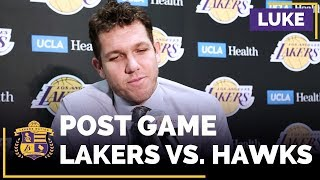 Luke Walton Jokes About Why He Subbed Out Lonzo Ball Early: 'His Dad....'