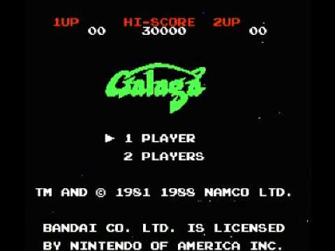 Galaga - Demons of Death (NES) Music - Extra Life