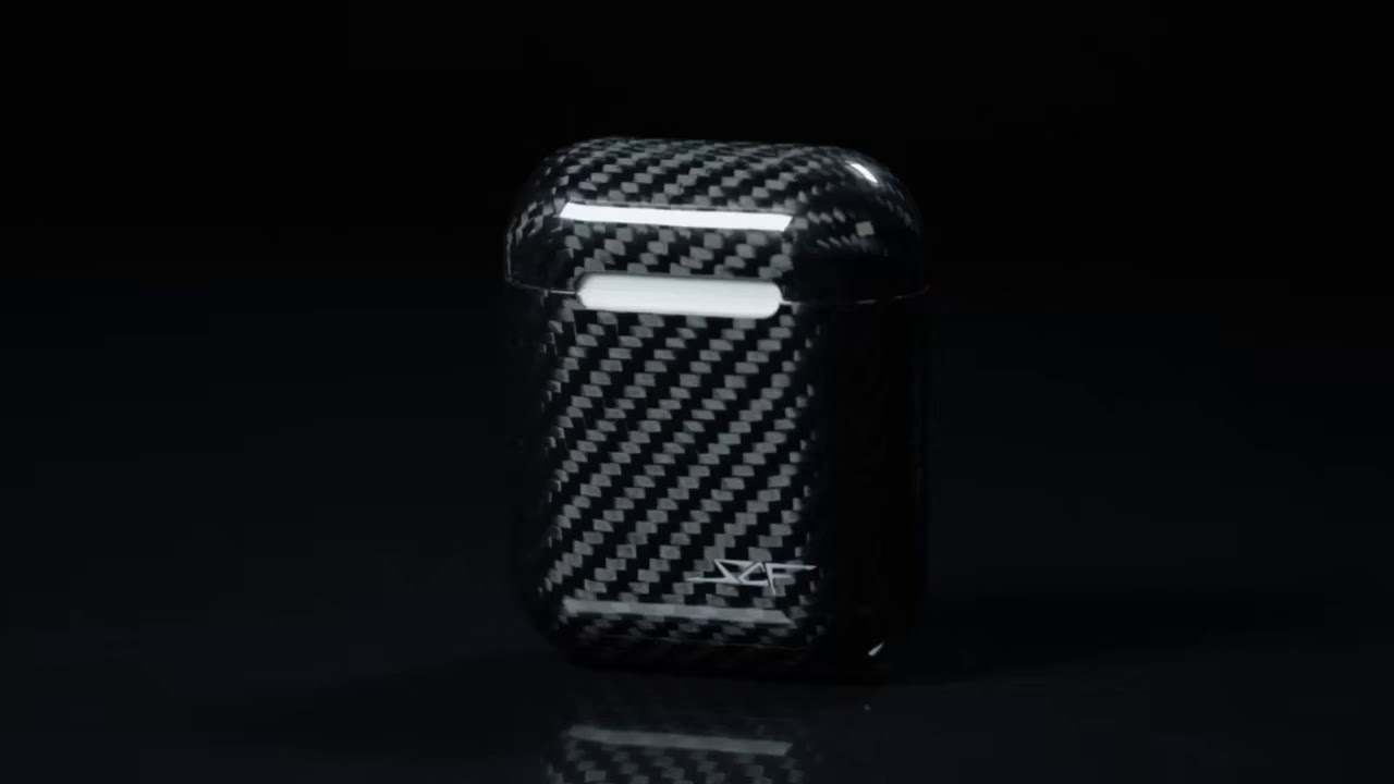fa9586632dd Real Carbon Fiber Airpod Case by SCF - YouTube