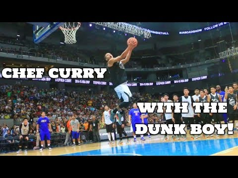Stephen Curry 2017 Dunk Mix