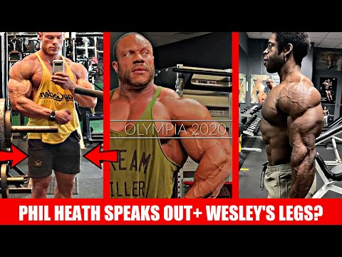 Phil Heath Breaks his Silence! + Wesley Vissers Legs- Improved? + Will Breon win with this shape?