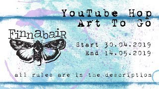Скачать Finnabair YouTube HOP ART TO GO Art In Jar By Juliya Tirskaya