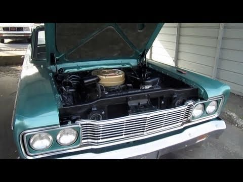 1965 Ford Fairlane 500 2-Door 289 Engine Restoration (How To, Before