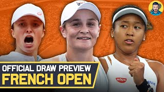French Open 2021   Ladies Draw Preview   Tennis News