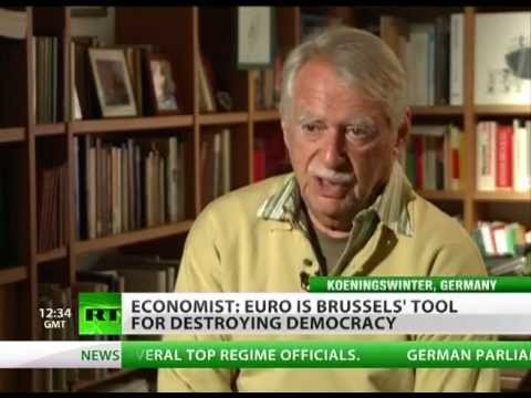 Stop the Euro: 'Single currency tearing Europe apart'