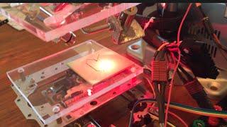 mini CNC 4 laser cutting machine DE-0 nano FPGA based