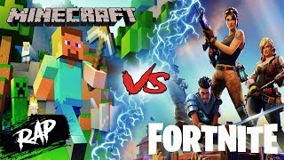 FORTNITE VS MINECRAFT RAP EN ESPAÑOL 2019 | RAP VERSUS | BATALLA DE RAP | Proii Raps Ft. Nozi