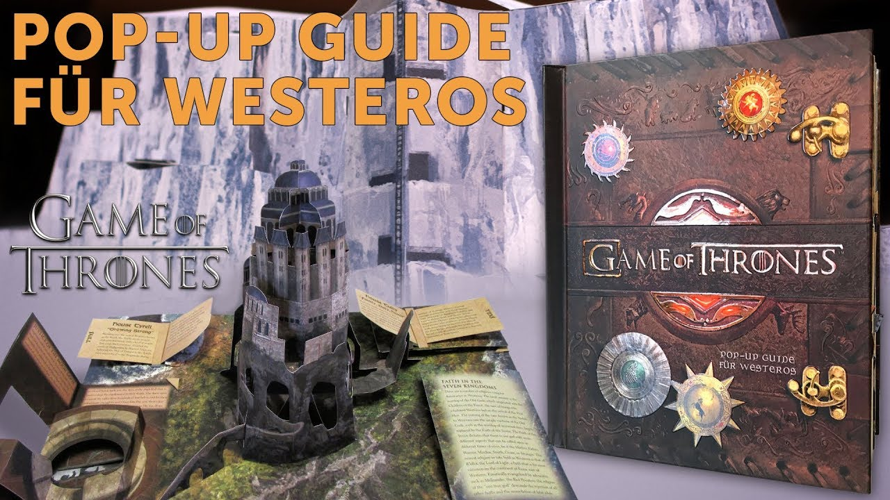 Game Of Thrones Der Pop Up Guide Fur Westeros