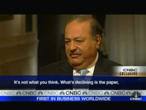 Carlos Slim Speaking to CNBC