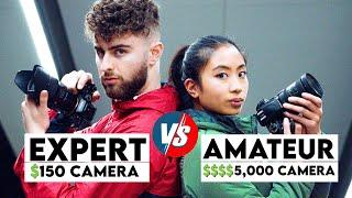 PRO PHOTOGRAPHER VS AMATEUR PHOTOGRAPHER! | Nikon D3300 vs. Sony A7RIV