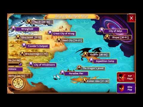 Arcane Legends - Hibiscus Questguide - Underhull Expansion