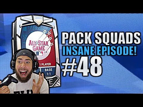 MULTIPLE NEW DIAMOND PULLS! Pack Squads #48 MLB The Show 19!