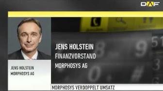Morphosys: Finanzchef stellt Prognoseerhöhung in Aussicht