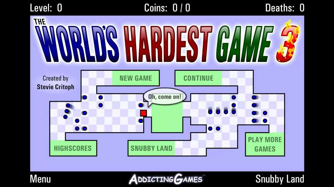 The Hardest Game In The World