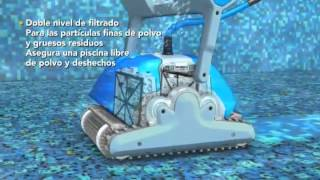 Robot automático limpiafondos Dolphin Supreme