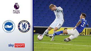 Werner nur mit Notbremse zu stoppen | Brighton - Chelsea 1:3 | Highlights - Premier League 2020/21