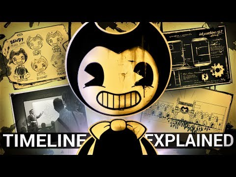 The Joey Drew Studios Timeline Explained (Bendy & The Ink Machine Theories)