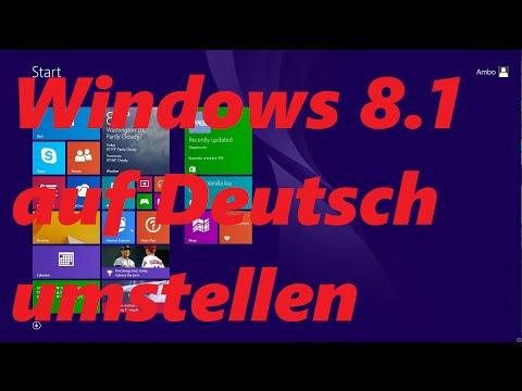 [TUT] Windows 8.1 Auf Deutsch Umstellen
