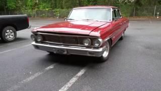 1964 Ford Galaxie // 427 Big Block Burnout