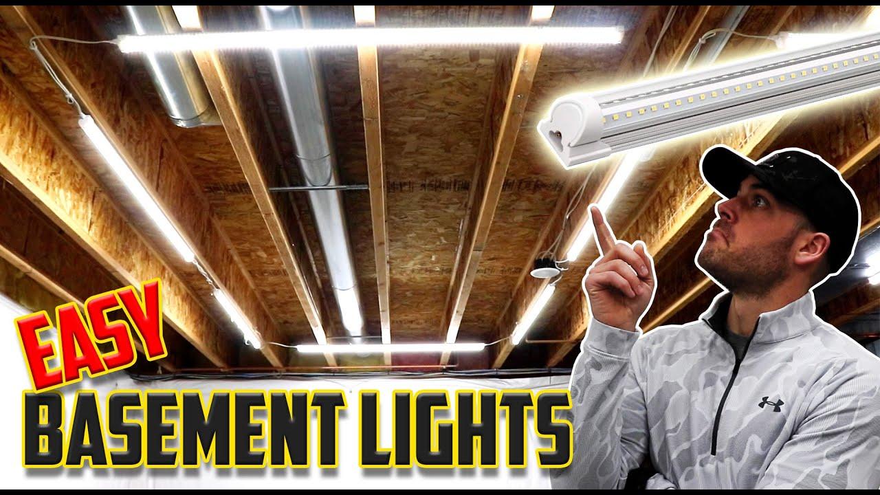 Easy Basement/Attic Lighting Upgrade