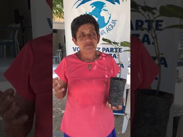 Dona Fátima - Primeira moradora da praia de Requenguela