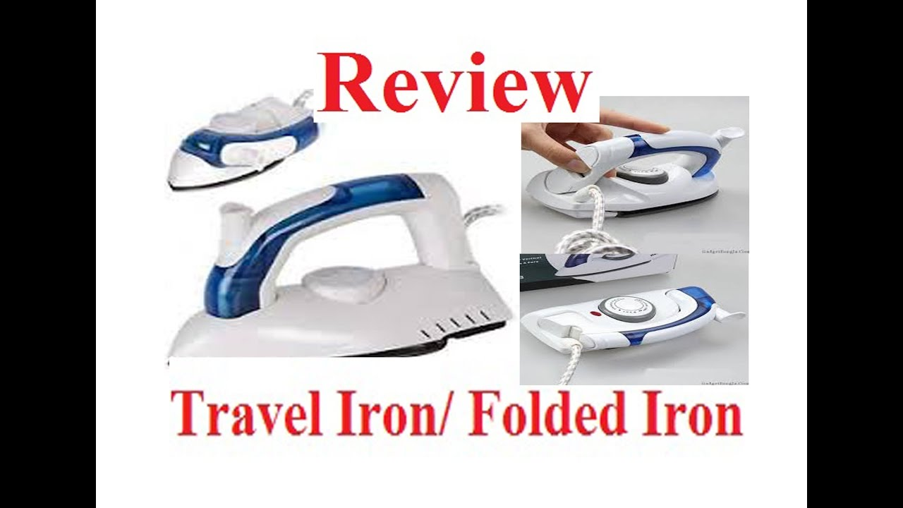 Mini Folding Iron Electric Irons With 6 Adjustable Temperature Setting Travel