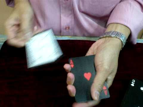 Superb Aces Card Magic by JACKY LEE