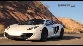 McLaren MP4-12C Road Trip - CAR and DRIVER