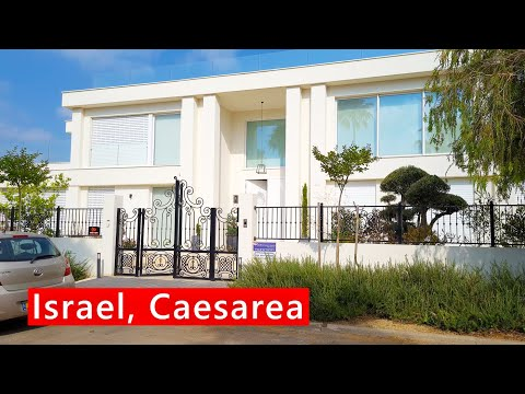 CAESAREA, Picturesque HOMES Of Wealthy Israelis
