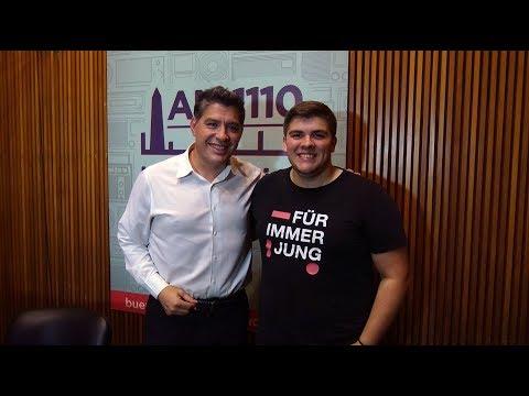"""<h3 class=""""list-group-item-title"""">Milton Ré visitó a Guillermo Lobo en La Once Diez</h3>"""